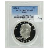 1974-S Proof Eisenhower Dollar