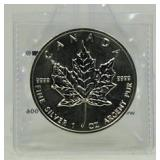 1989 1 oz. Canada $5