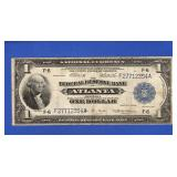 1914 - Atlanta $1 National Currency