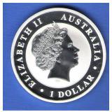 2015 Proof Australia $1 Silver