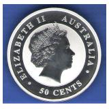 2015 Proof Australia 50 Cents