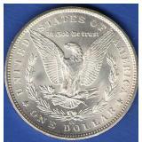 1883-CC BU Morgan Dollar