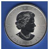 2018 Canada $5 Silver