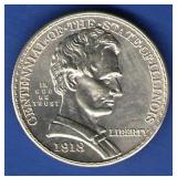 1918 UNC Illinois Half Dollar