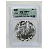 1987 Silver Eagle