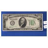 1934-A $10 FRN