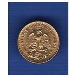 1945-M Dos Pesos Gold