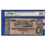 1864 $10 CSA Note