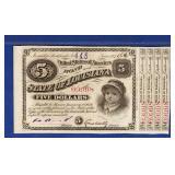 1886 Louisiana Baby Bonds