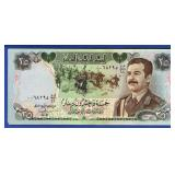 1986 Iraq 25 Dinars