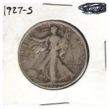 1927-S Walking Liberty Half