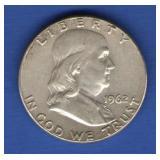 1962 Franklin Half