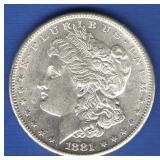 1881-S Morgan Dollar