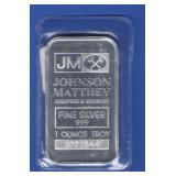 1 oz. Silver Bar