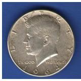 1964 UNC Kennedy Half