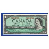 1954 Ottawa $1 Canadian Note