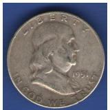 1951-D Franklin Half