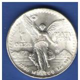 1985 Mexico Libertad 1 oz. Silver