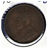 1918 Canadian One Cent