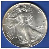 1986 BU Silver Eagle
