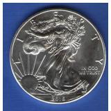 2016 BU Silver Eagle