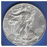 2011 BU Silver Eagle