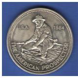 1984 1 oz. Engelhard Silver Round