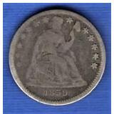 1859 Half Dime