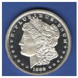 1 oz. Silver Round - Morgan Dollar Style