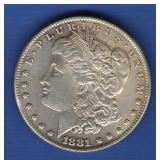 1881 Morgan Dollar