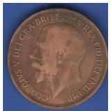 1913 Great Britain One Penny