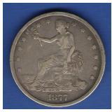 1877 US Trade Dollar