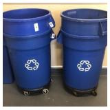 4 Recycle Trash Cans