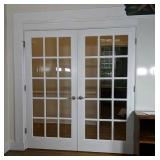 Pair Of Fifteen Pane 3ft0in French Doors