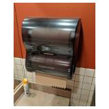 Vondrehle Paper Towel & Toilet Paper Dispenser
