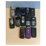 Thirteent Miscellaneous Cell Phones
