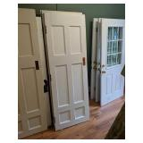 Six Solid Wood Six Panel 2ft6in Doors (lh)