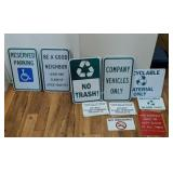 Large Selection Of Signs