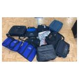Lot Of Various Briefcases And Shoulder Bags