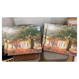4 Matching Canvas Prints