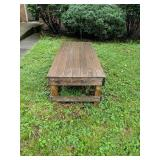 Custom Garden Table