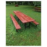 Eight Foot Picnic Table