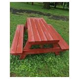 Six Foot Picnic Table