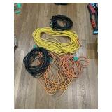 Five Extension Cords