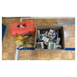 Toolbox, Worklights, Box Full Of Power Strips