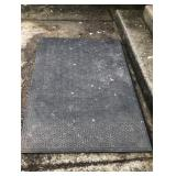 Two Commercial Non Slip Floor Mats
