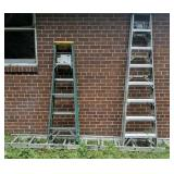 Extension Ladder & 2 Step Ladders