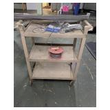 Industrial Rolling Cart  W/ Screen & Cable