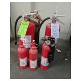 6 Fire Extinguishers
