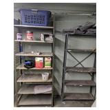 Two Metal Shelves
